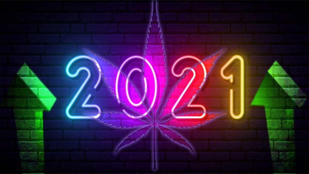 neon cannabis 2021 sign